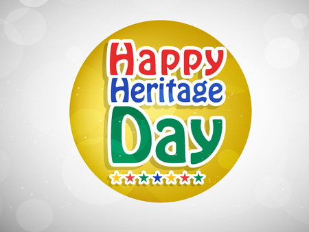 web site design template: Illustration of elements of South Africa Heritage Day background. Illustration