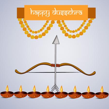 Banner of Hindu festival Dussehra