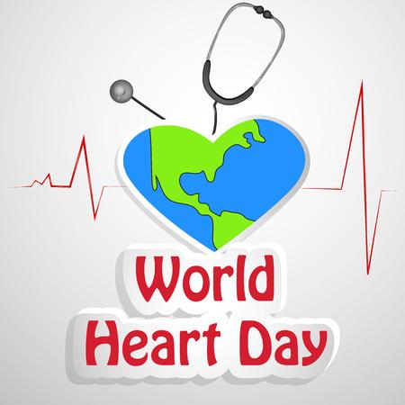 Illustration World Heart Day Illustration