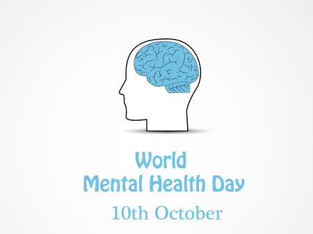 Illustration of World Mental Health Day
