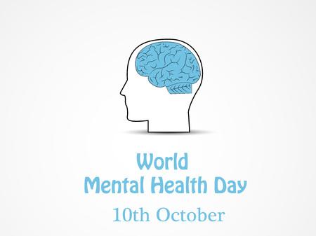 Ilustración del Día Mundial de la Salud Mental