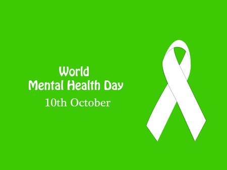 Illustration Of World Mental Health Day Stock Vector