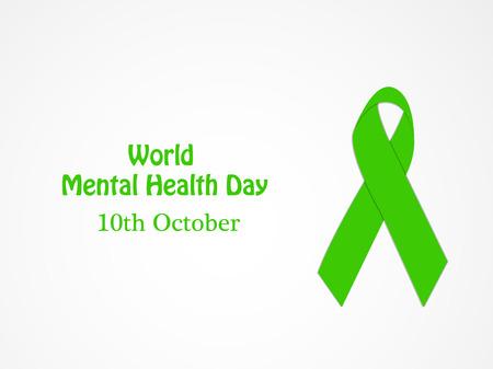 Illustration of World Mental Health Day