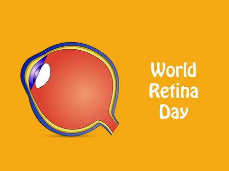 World Retina Day banner.