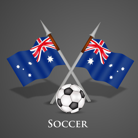 world championships: Illustration of soccer game background