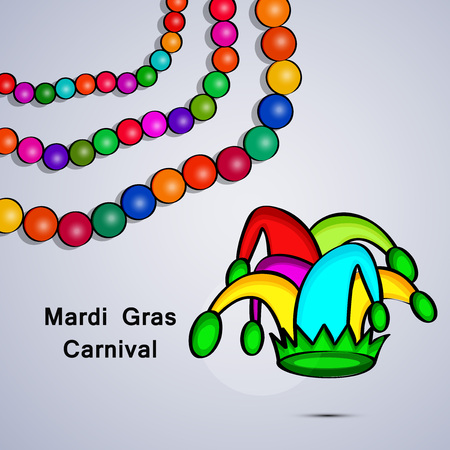 Celebrations for Mardi Gras Carnival background Illustration