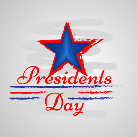 Illustration of background for USA Presidents Day Illustration