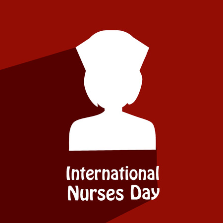 Illustration background for International Nurse day.