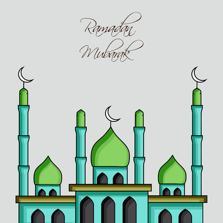 Illustration of Muslim festival Eid/Ramadan background
