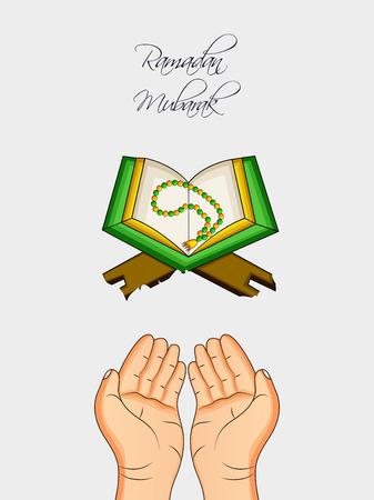 Illustration of Muslim festival vector Illustration