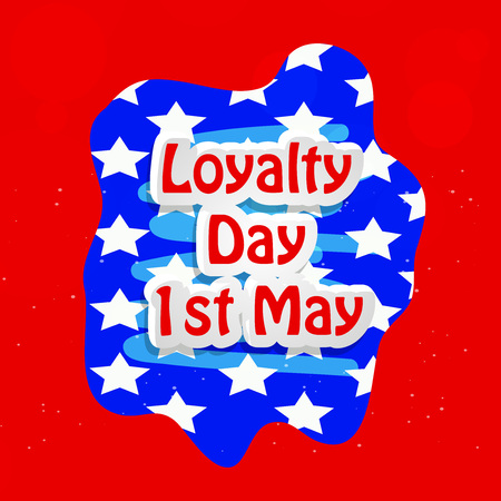 Illustration of USA Loyalty Day