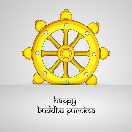Illustration of background for Hindu Buddhism festival Buddha Purnima Foto de archivo - 100732004