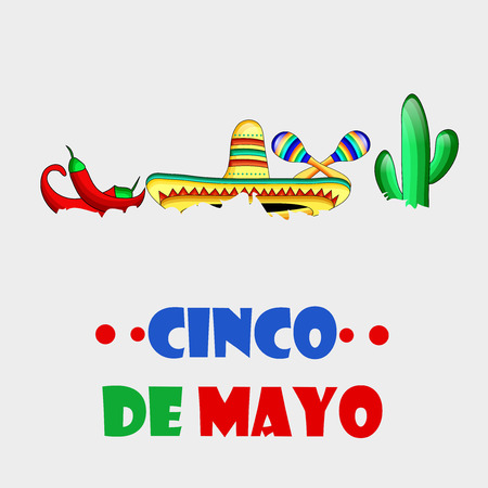 Illustration of background for Cinco De Mayo