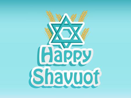 illustration of elements of Shavuot Background Illustration