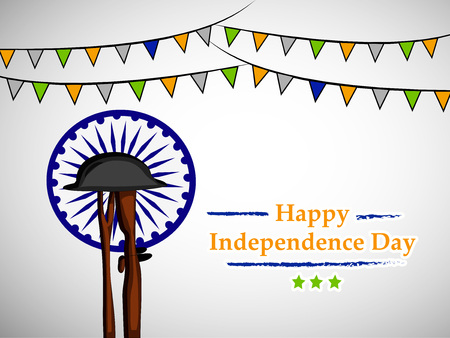 Illustration of background for Indian Independence Day Illustration