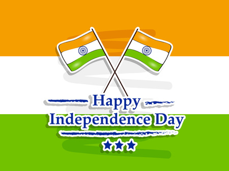 Illustration of background for Indian Independence Day Illustration