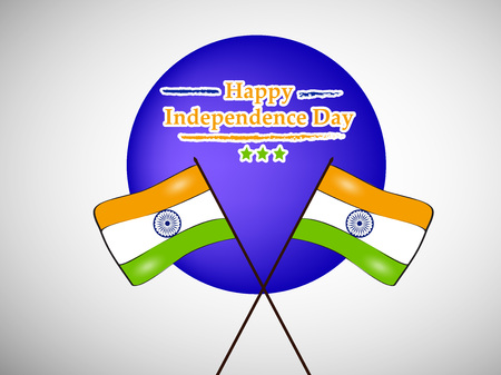 Illustration of background for Indian Independence Day