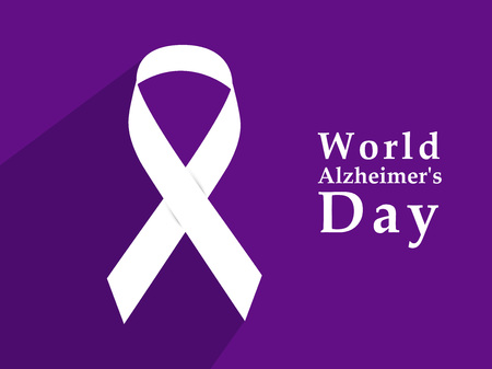 illustration of elements of World Alzheimer's Day Background Stock fotó - 108196079