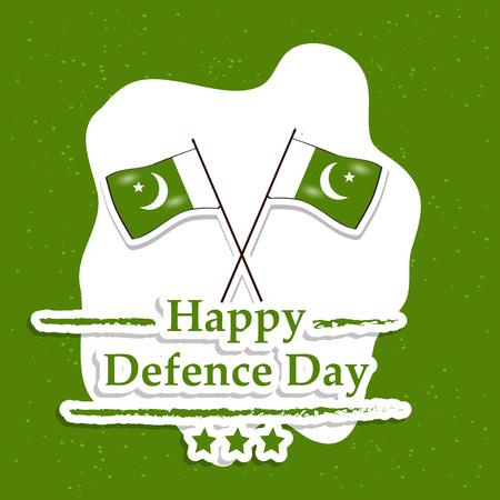 Illustration of Pakistan Defence Day background Stock fotó - 108196084
