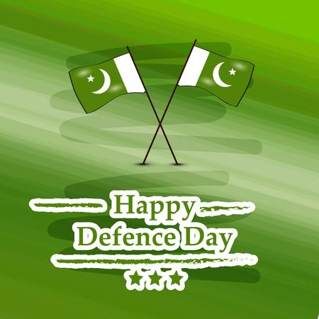 Illustration of Pakistan Defence Day background Stock fotó - 108196087