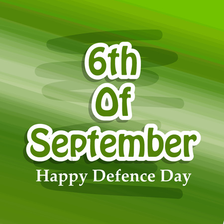 Illustration of Pakistan Defence Day background Stock fotó - 108196089