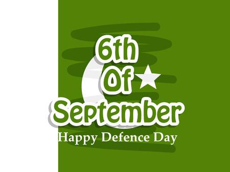 Illustration of Pakistan Defence Day background Stock fotó - 108196090