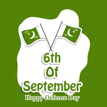 Illustration of Pakistan Defence Day background Stock fotó - 108196091