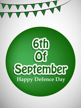 Illustration of Pakistan Defence Day background Stock fotó - 108196099