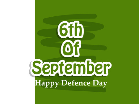 Illustration of Pakistan Defence Day background Stock fotó - 108196186