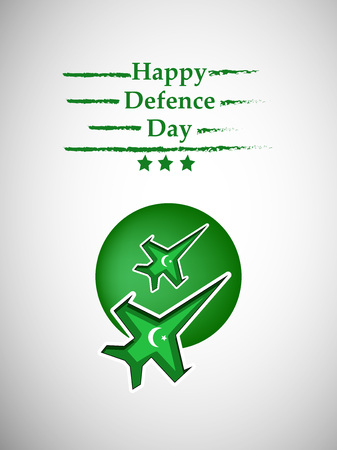 Illustration of Pakistan Defence Day background Stock fotó - 108196187