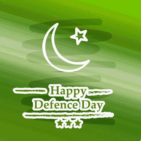 Illustration of Pakistan Defence Day background Banco de Imagens - 108151331