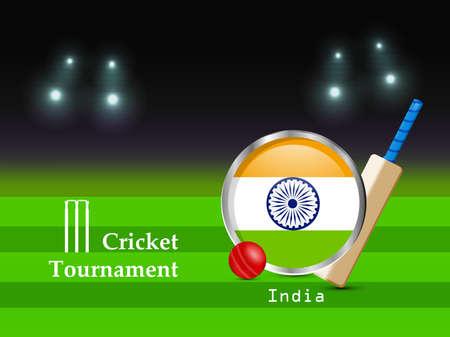 Cricket Sport Background Ilustracje wektorowe