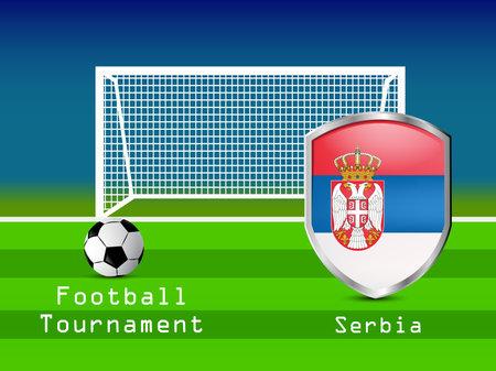 Soccer background Vetores