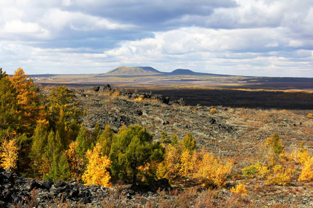 paisaje natural: -Volcanic eruption of wudalianchi, old Montenegros natural landscape