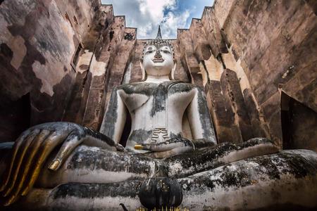 Buddha in Sukhothai  Thailand photo