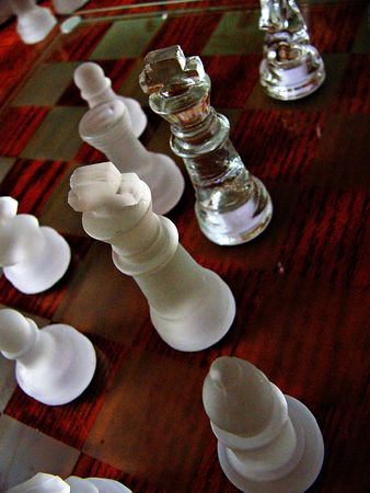Face off between Kings in a Chess Game