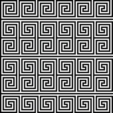 사각형 나선형 완벽 한 형상 텍스처입니다. 벡터 아트입니다.