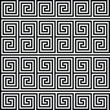 square spiral seamless geometric texture. Vector art. Illustration