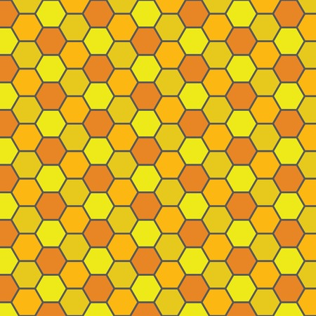 beeswax: Bee honeycomb pattern Illustration