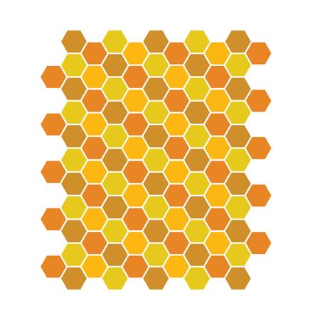 Bee honeycomb pattern, Vector backgrounds, honey texture