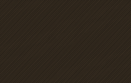 thin gold diagonal stripes vector for background or template. Grid of straight parallel lines
