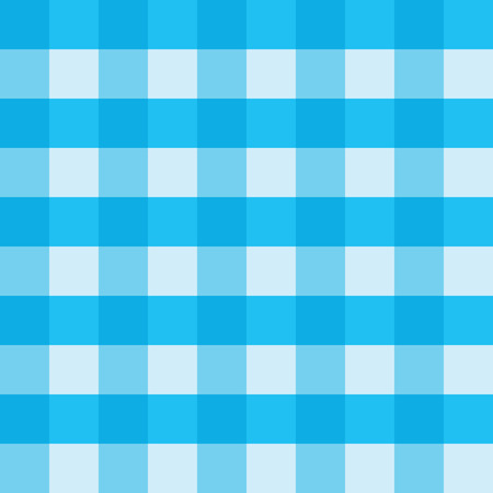 Delicieux Blue Gingham Tablecloth Seamless Vector Background Pattern Design. Texture  From Rhombus Or Squares For Plaid