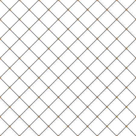 Abstract diagonal modern triangle dot Cross lines vector pattern, background. Seamless repeatable grid, mesh pattern. Template of lattice  texture. Vintage black and white tiles vector pattern