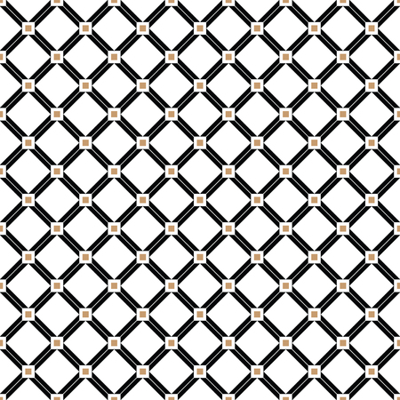 Cross Lines Gold Vector Pattern, Background. Seamless Repeatable ...