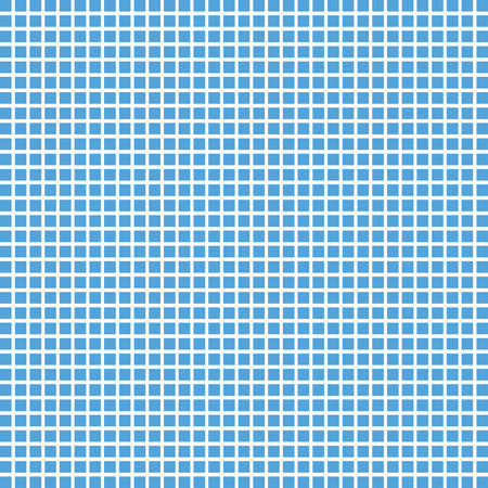Vector blue square checkered background or texture. Tile background