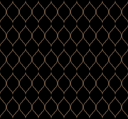 Vintage stylish trellis decorative seamless pattern, geometric background. Luxury design elements for wallpaper, wrapping paper, background, surface texture and fill, card, templates. Vector illustration Illustration