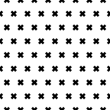 Cross seamless patten background for design, vector illustration.