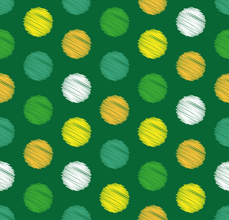 Dots circle geometric seamless pattern, summer and spring color background. Creative luxury candy style. Print for design cloth, clothing, tie, shirt, dress, wrap, wrapper web cover website