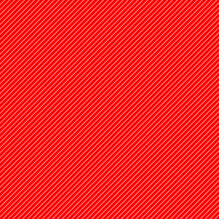 thin white diagonal stripes on red vector background. Grid template of straight parallel lines.