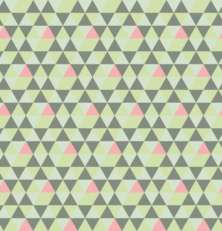 Repeating geometric triangular grid.
